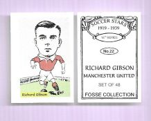Manchester United Richard Gibson 22 (FC)